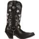 Crush by Durango Women's Embroidered Harness Western Boot, , small