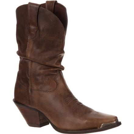 Crush by Durango Women's Brown Sultry Slouch Boot, , large