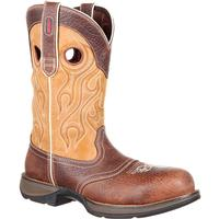 Rebel by Durango Composite Toe Waterproof Saddle Western Boot, , medium
