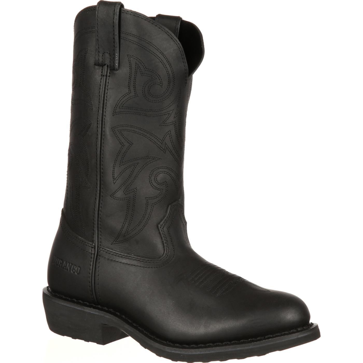 Durango Men S Farm N Ranch Black Western Boots Fr100