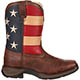 Lil' Durango Kid's Patriotic Western Flag Boot, , small