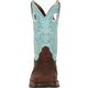 Lady Rebel by Durango Women's Powder n' Lace Saddle Western Boot, , small