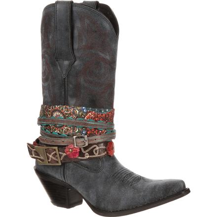 Crush by Durango Women's Accessorize Western Boot, , large