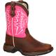 Lil' Durango Little Kid Let Love Fly Western Boot, , small