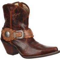Crush by Durango Women's Spur Strap Demi Western Boot, , medium