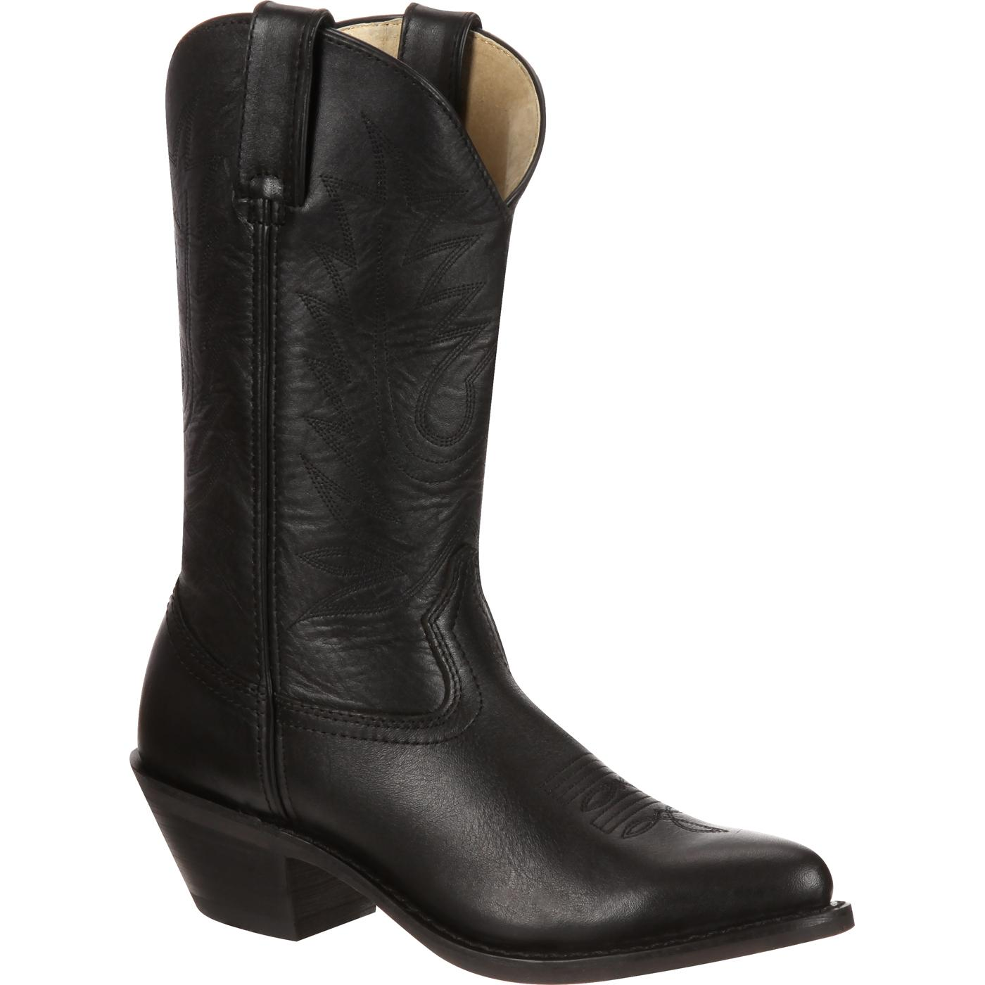 durango s black leather western boots style rd4100