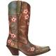 Crush by Durango Women's Floral Embroidered Western Boot, , small