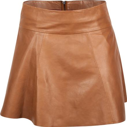 Durango Leather Company Women's Tottie Skirt, CAMEL, large