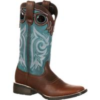 Durango Mustang Women's Pull-On Western Saddle Boot, , medium