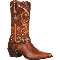 Crush by Durango Women's Heartbreaker Concho Western Boot, , medium