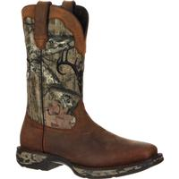 Rebel by Durango Waterproof Camo Deer Skull Western Boot, , medium