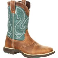 Durango UltraLite Women's Emerald Saddle Western Boot, , medium