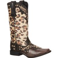 Crush by Durango Women's Leopard Western Boot, , medium