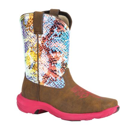Lil' Durango Infant's Wild Shine Western Boot, , large