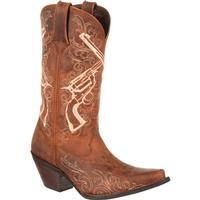 Crush by Durango Women's Crossed Guns Western Boot, , medium