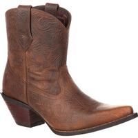 Crush by Durango Women's Western Embossed Bootie, , medium