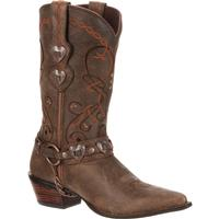 Crush by Durango Women's Brown Heartbreaker Boot, , medium
