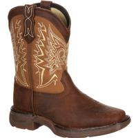 Lil' Durango Big Kid Let Love Fly Western Boot, , medium