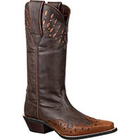 Crush by Durango Women's Western Wingtip Boot, , medium