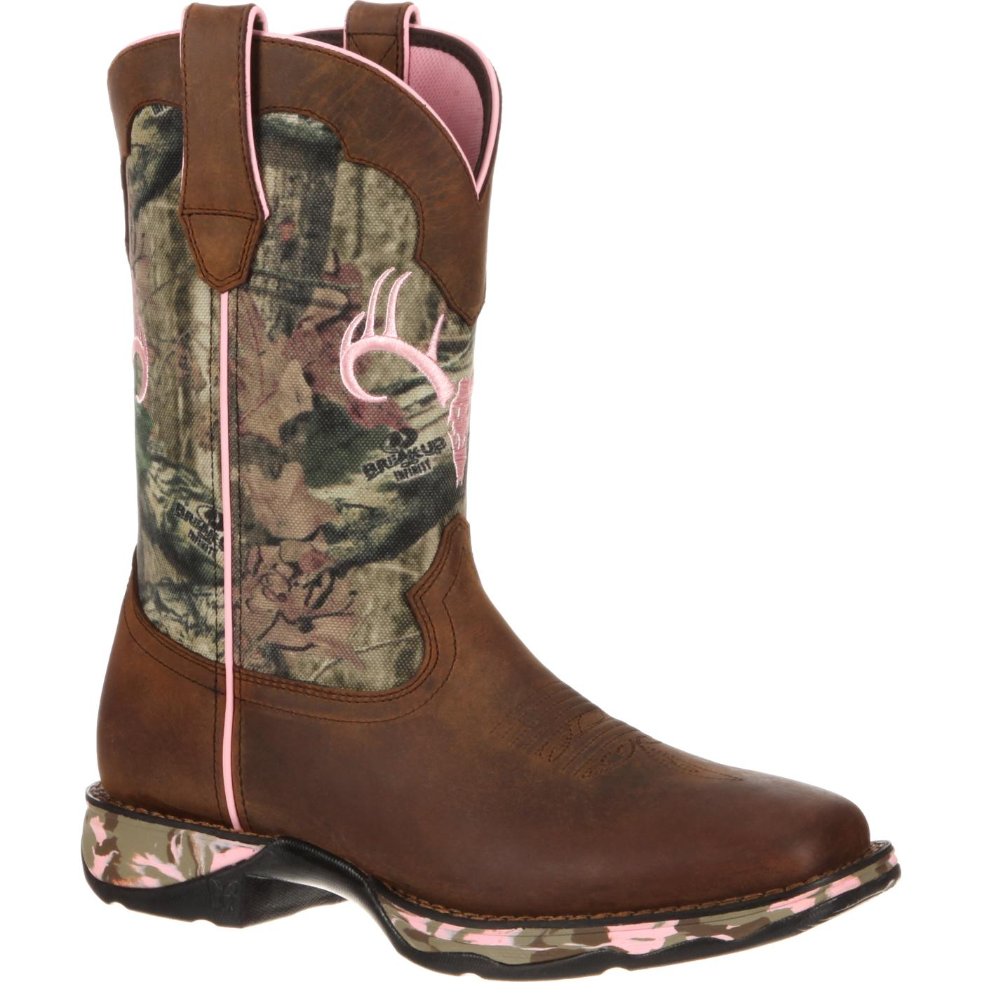Lady Rebel By Durango Women S Mossy Oak Camo Western Boot