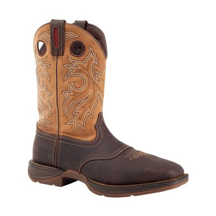 Rebel by Durango Steel Toe Waterproof Western Boot, , large