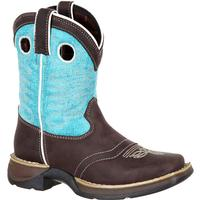 Lil' Rebel by Durango Big Kids' Western Saddle Boot, , medium