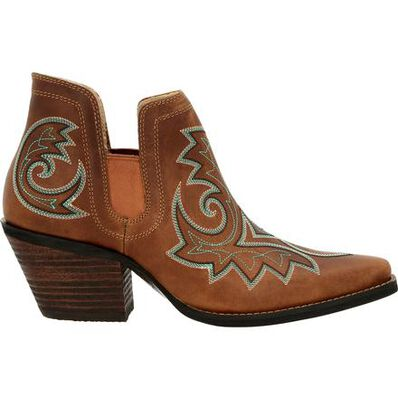 Crush™ by Durango® Women's Golden Brown Western Fashion Bootie, , large