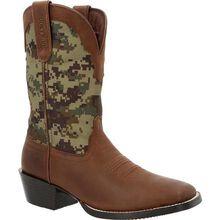 Durango® Westward™ Green Digi Camo Western Boot