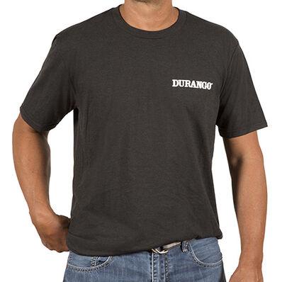 Durango® Unisex Triblend Tshirt, Black Frost, large