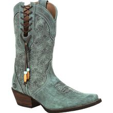 Crush™ by Durango® Women's Gypsy Teal Western Boot