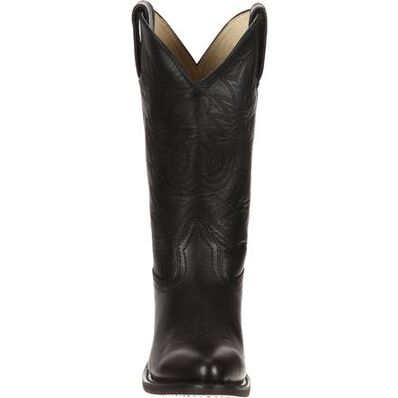 Durango® Women's Black Leather Western Boot, , large