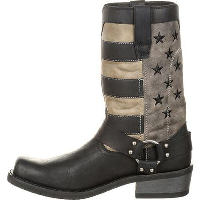 Durango® Black Faded Flag Harness Boot, , large