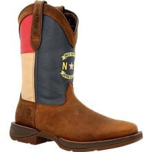 Rebel™ by Durango® North Carolina State Flag Western Boot