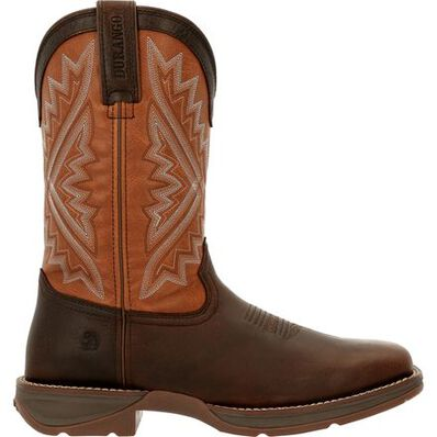 Rebel™ by Durango® Rugged Brown Western Boot, , large