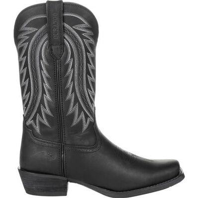 Durango® Rebel Frontier™ Black Western Boot, , large