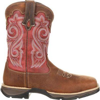 Lady Rebel™ by Durango® Women's Waterproof Composite Toe Western Work Boot, , large