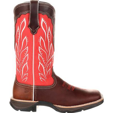 Lady Rebel™ by Durango® Women's Strawberry Sunrise Western Boot, , large