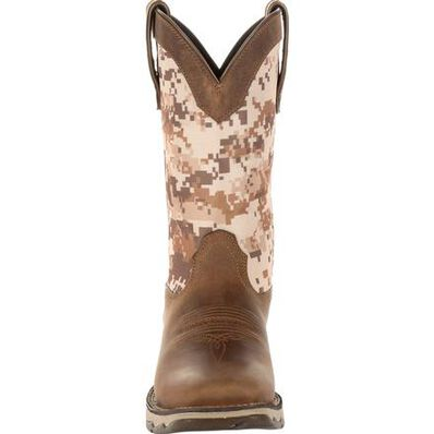 Lady Rebel™ by Durango® Women's Desert Camo Western Boot, , large