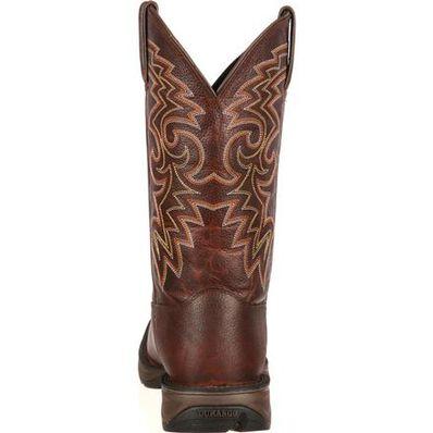 Rebel™ by Durango® Dark Brown Pull-On Western Boot, , large