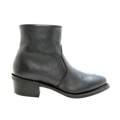 Durango® Black Leather Side Zip Western Boot, , large