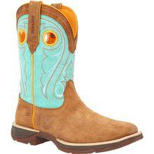 Lady Rebel™ by Durango® Women's Dusty Brown & Sky Blue Western Boot