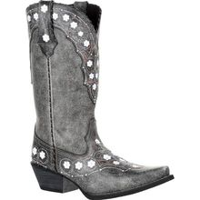 Crush™ by Durango® Women's Pewter Floral Western Boot