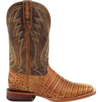 Durango® Premium Exotics™ Sunset Wheat Caiman Western Boot, , large