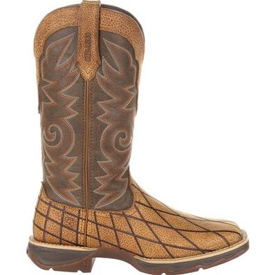 Lady Rebel™ by Durango® Women's Patchwork Western Boot, , large