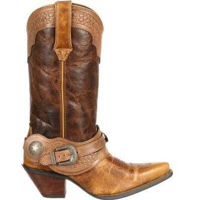 Crush™ by Durango® Women's Spur Strap Western Boot, , large