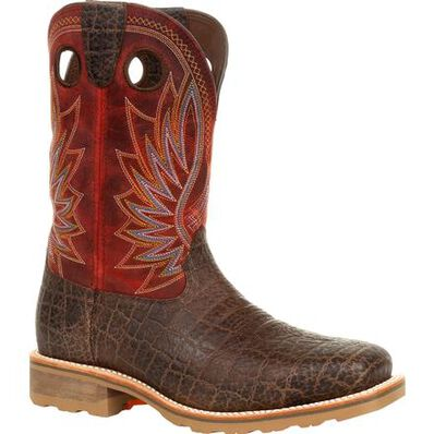 Durango® Maverick Pro™ Steel Toe Waterproof Western Work Boot, , large