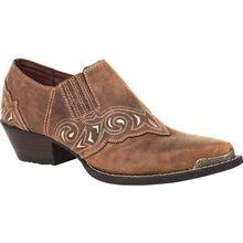 Crush™ by Durango® Women's Distressed Tan Shoe Boot