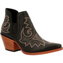 Crush™ by Durango® Women's Black Western Fashion Bootie