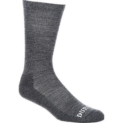 Durango® Boot Light Weight Merino Wool Socks, Grey, large