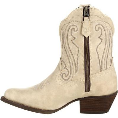 Crush™ by Durango® Women's Taupe Shortie Western Boot, , large